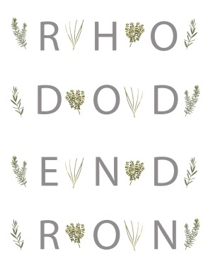 Rhododendron cover